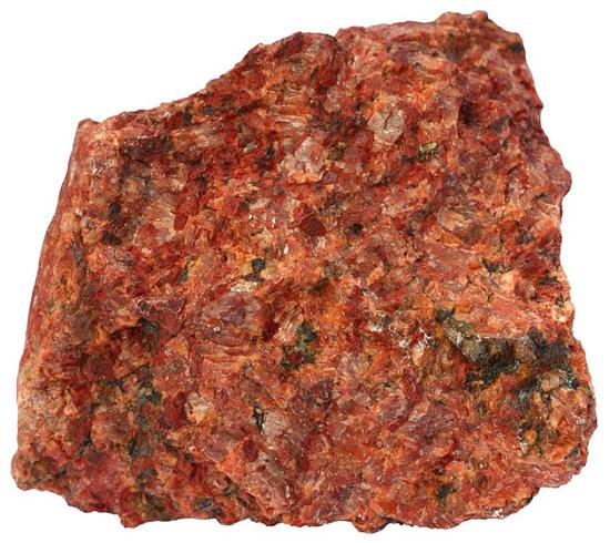 Red Granite Boulder : Alex strekeisen